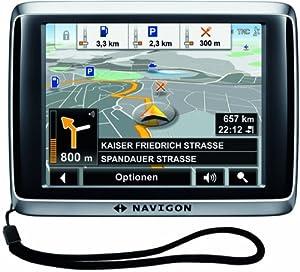 NAVIGON 2510 Explorer EU41 Navigationssystem (8,9 cm (3,5 Zoll) Display, Europa 41, TMC,  E-Kompass-Fußgängernavigation, RealityView, TTS)