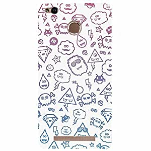Xiaomi Redmi 3s Cute doodles Printed back cover