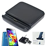 No1accessory desktop SYNC / Charging Cradle dock docking station battery charger stand with 2nd battery charger for Samsung Galaxy S5