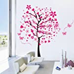 Dushang Large Peach Pink Tree Butterf...