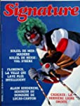 SIGNATURE [No 194] du 01/12/1986 - SO...