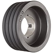 Martin Conventional Taper Bushed Sheave, A/B Belt Section, 4 Grooves, Class 30 Gray Cast Iron