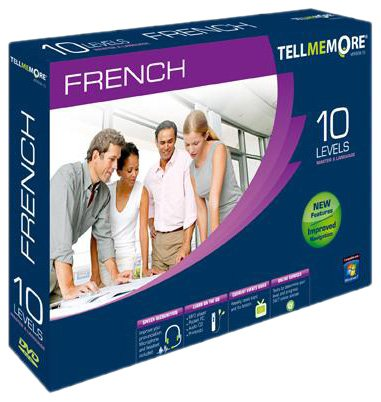 TELL ME MORE French v10 10 levels (PC DVD)