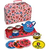 Vilac 14 Piece Tin Tea Set