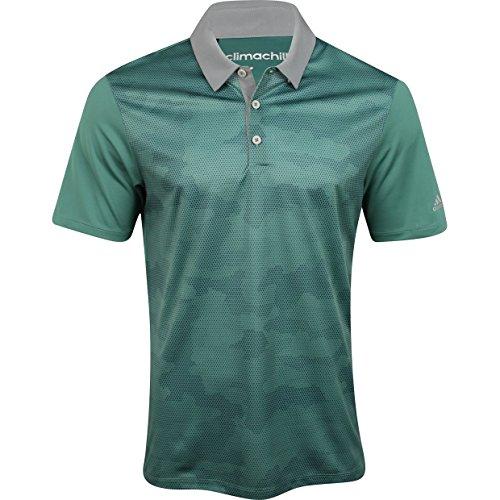 Adidas ClimaChill Camo Print Golf Shirt