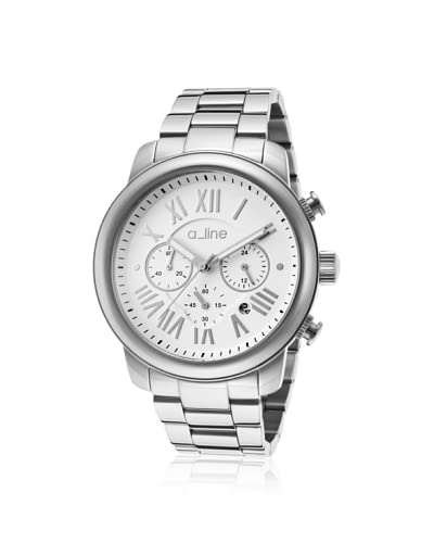 a_line Women's 80163-22 Amor Silver/White Stainless Steel Watch