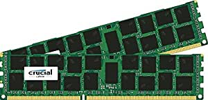 Crucial 32GB Kit (2x16GB) DDR3-1866 ECC RDIMM