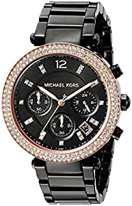Michael Kors Women's Parker Black Watch MK5885