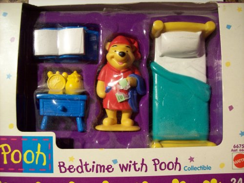 Buy Low Price Mattel Pooh: Bedtime with Pooh Collectible Figure (B001RPXFF4)