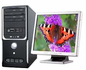 "PC - CSL Speed Vision 7117 - DualCore! Intel Pentium Dual-Core E5200 2 2500MHz, 500GB SATA, 4096MB DDR2, GeForce 7100, DVD-RW, CardReader, Sound, Gig LAN, 20.1"" TFT, Logitech-Tastatur und -Maus"