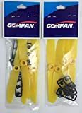 Geniune Gemfan 5030 (5x3) Yellow Propellers for 250 Size Quadcopters and Multirotors - Perfect for Zmr250, Fpv250, Vortex