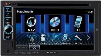 Kenwood DDX4021BT Moniceiver (VGA Doppel DIN-Monitor, DVD, Bluetooth, Apple iPod-ready, USB 2.0) schwarz von Kenwood Electronics Deutschland GmbH - Reifen Onlineshop