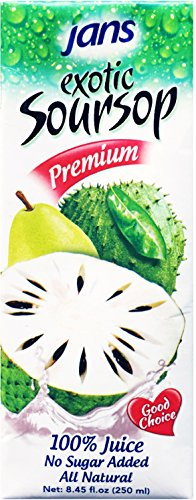 Jans Soursop Exotic Tropical Juice, 8.45-Ounce (Pack of 24) (Soursop Juice compare prices)