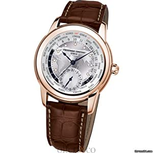 Frederique Constant Worldtimer Automatic Mens Watch FC-718WM4H4 from Frederique Constant