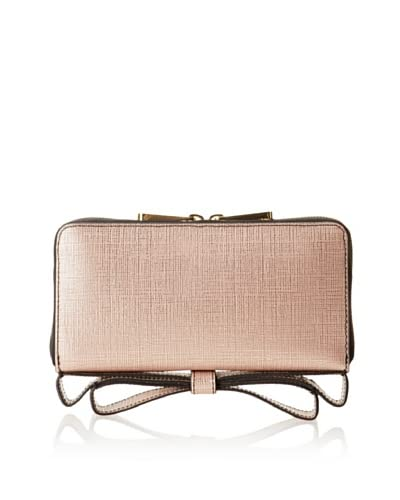 Zac Zac Posen Women's Milla Zip Around Organizer Clutch/Wallet, Blush