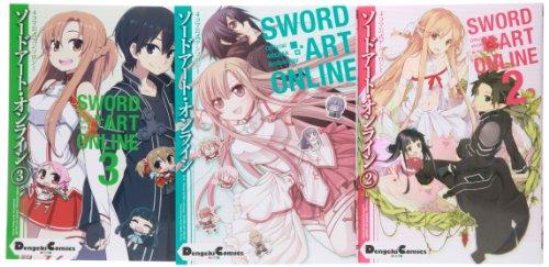 ソードアート・オンライン 4コマ公式アンソロジー コミック 1-3巻セット (電撃コミックスEX)
