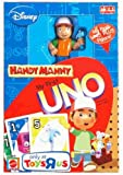 51oy8o3eyIL. SL160  Handy Manny My First UNO King Size Card Game Plus Figure