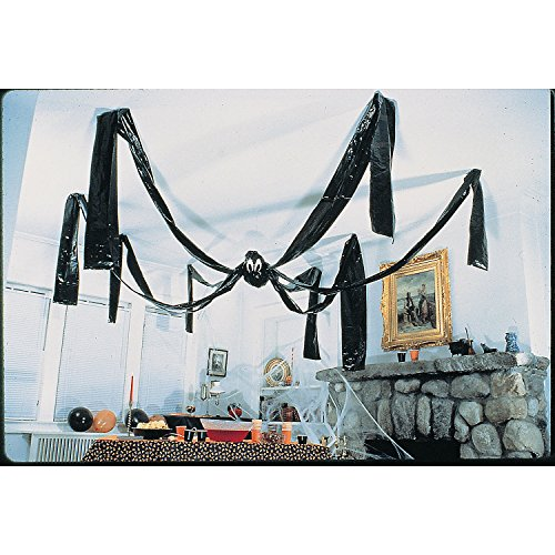 GIANT HALLOWEEN HANGING SPIDER - 20 FEET WIDE! by Fun Express