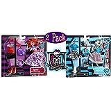 Monster High Deluxe Frankie Stein & Operetta Fashion Packs Gift Set Bundle - 2 Pack