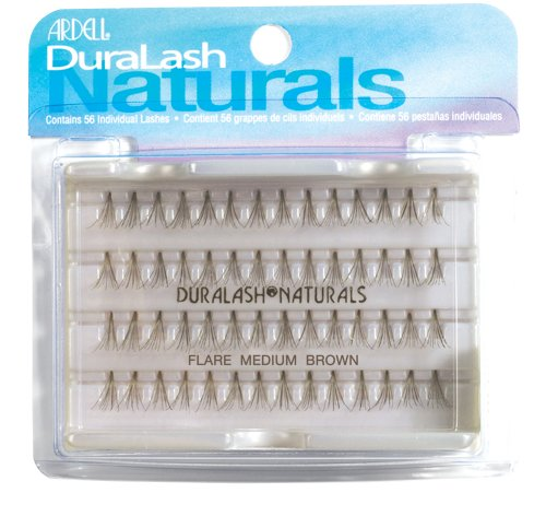 Ardell Duralash Naturals Combo Pack, Brown, 1 Pair (Pack of 2)