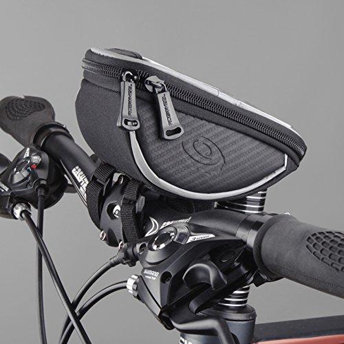 Roswheel cyclisme bicyclette vélo Top avant Guidons Sac pour 5in portable 1L 11810 noir