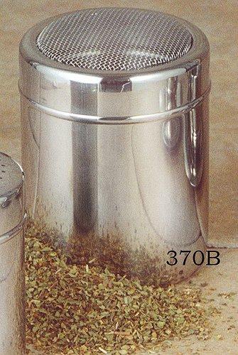 European Gift & Houseware Stainless Steel Condiment Shaker, 10-Ounce