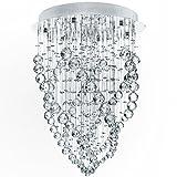 Jago - Lustre plafonnier - DEKL11 - lampe en cristal - hauteur 70 cm - diam�tre 50 cmpar Jago