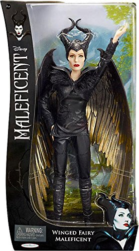 Maleficent Movie 2014 Sdcc Exclusive Battle Doll Winged
