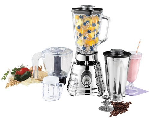 Oster BLSTBC4129 Kitchen Center Beehive blender,  Silver (Oster Kitchen Centers compare prices)