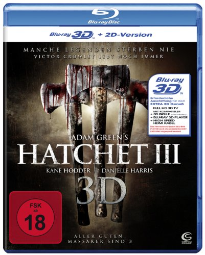 Hatchet 3 [3D Blu-ray + 2D Version]