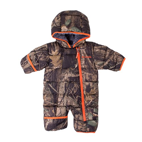 Columbia Baby Boys' Frosty Freeze Bunting, Timberwolf, 6-12 Months
