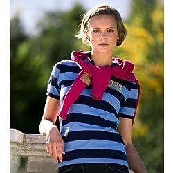 B-Vertigo SOFIA Ladies pique shirt short sleeve, PDB/PVB, XL