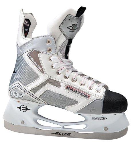 Easton Stealth S17 White Ice Skates [SENIOR]