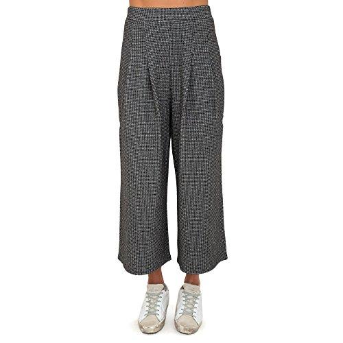 Pantalone Patrizia Pepe modello largo al polpaccio elastico in vita - M