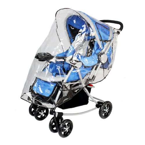 Simplicity® Stroller Weather Shield Rain Cover Canopy Universal Size, Clear
