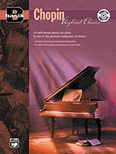 Basix Keyboard Classics Chopin Book Cd Basixr by Alfred Publishing Co., Inc.