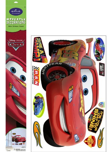 Cars - Lightning Mcqueen Jumbo Everyday Moveable Decorations front-499071