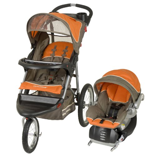 Baby Trend Expedition Travel System, Orange Oak