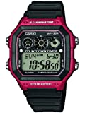 Casio - AE-1300WH-4AVEF - Collection - Montre Homme - Quartz Digital - Cadran Noir - Bracelet Résine Noir