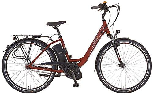 Prophete-Damen-Elektrofahrrad-E-Bike-Alu-City-26-Zoll-E-Novation-Navigator-66-dunkelrot-matt-46-52466-0111