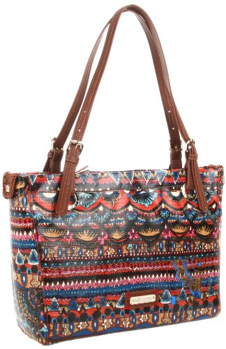 The SAK Artist Circle Satchel,Cayenne One World,One Size