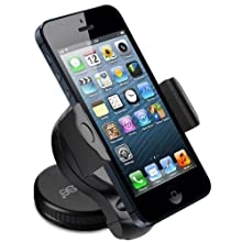 Bolse Mini Windshield Car Mount Holder For IPhone 5 4s Samsung Galaxy S3/S2 Note HTC Evo 4G LTE Rhyme Incredible...