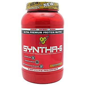BSN Syntha-6 Protein Powder, Peanut Butter Cookie, 2.91 Pound