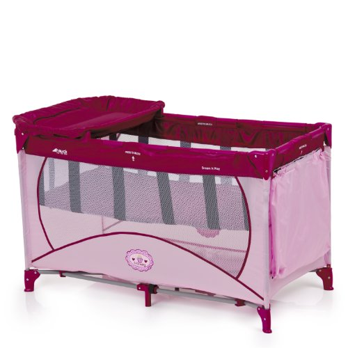 Hauck Dream N Play Travel Bed (Pink)