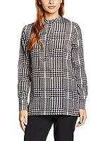 Dekker Camisa Mujer (Negro / Blanco)