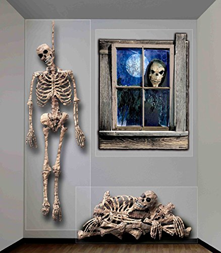 Halloween Haunted House Props Indoor Outdoor Ghastly Wall Decoration Home Party (Haunted House Prop Ideas)