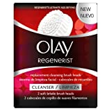 Olay Regenerist 3 Point Super Cleansing System Replacement Brush Heads x 2