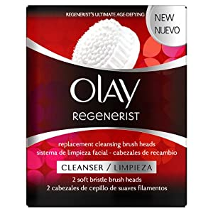 Olay Regenerist 3 Point Super Cleansing System Replacement Brush Heads x2