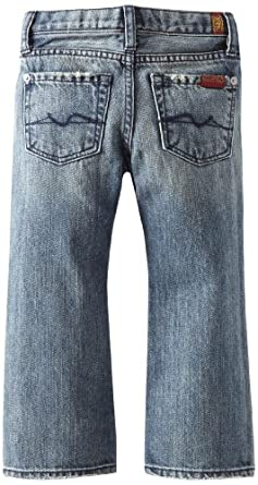 7 For All Mankind Boys 2-7 Toddler Bootcut Premium Jean, Medium New York, 2T
