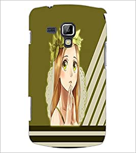 PrintDhaba Praying girl D-2380 Back Case Cover for SAMSUNG GALAXY S DUOS 2 S7582 (Multi-Coloured)